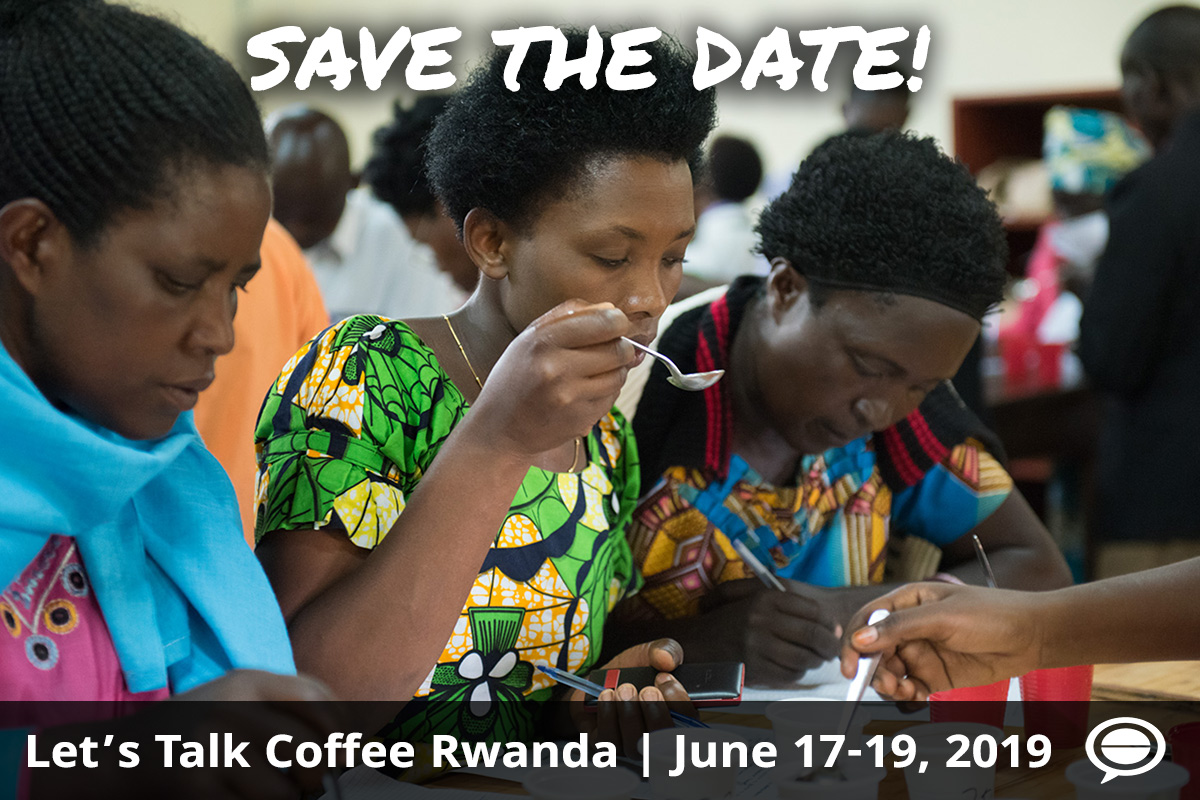 Let's Talk Coffee Rwanda June 17-19, 2019