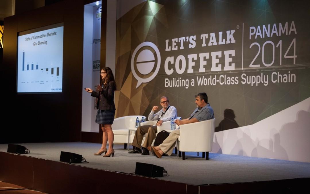 Examining the volatile market at Let's Talk Coffee® 2014